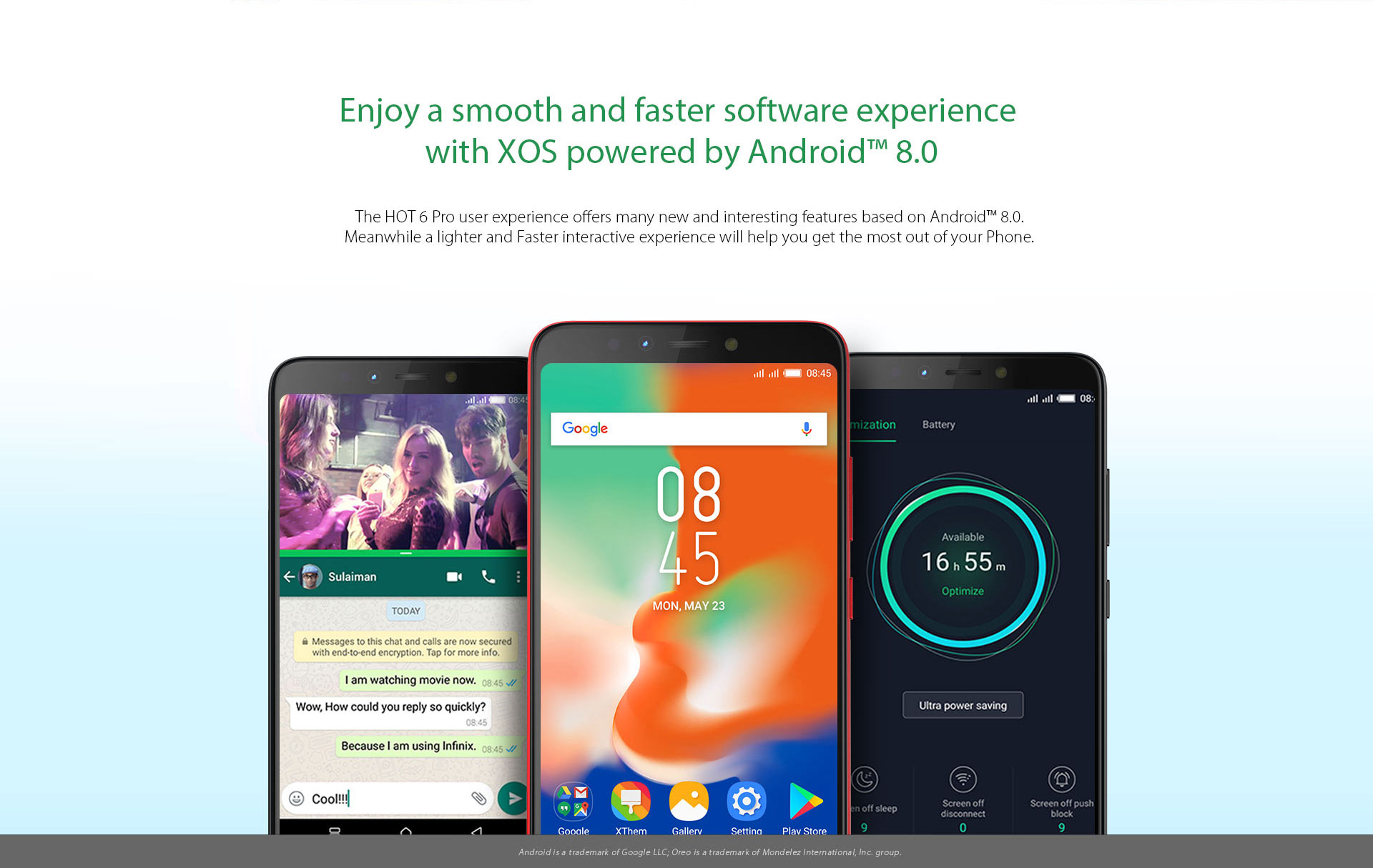 Infinix Hot 6 Pro (X608) - 3GB RAM - 32GB - Fingerprint - Gold