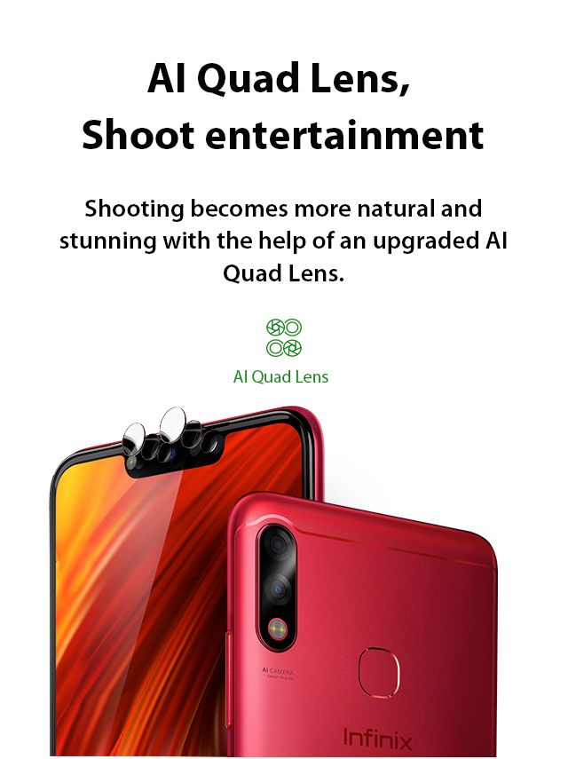 Infinix Hot 7 Pro AI Quad Lens