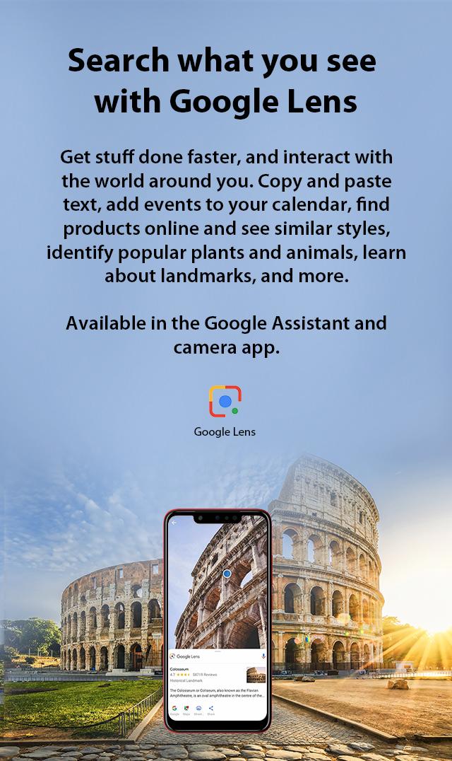 Infinix Hot 7 Pro Google Lens